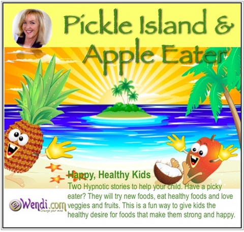 Child Bedtime Story- Pickle Island and Apple Eater