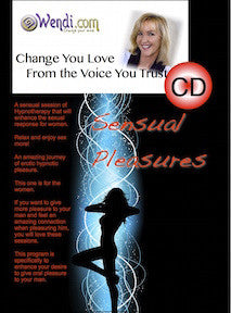 Sensual Pleasures -Erotic Hypnosis- Download- by Wendi Friesen