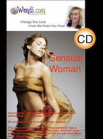 Sensual Woman Hypnosis CD- by Wendi Friesen