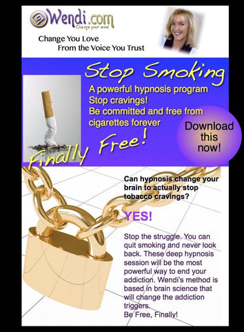 Stop Smoking- hypnosis CD set from Wendi Friesen