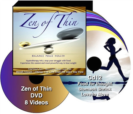 Zen of Thin Hypnosis for Weight Loss- download - by Wendi Friesen