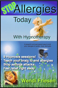 Allergy Freedom Hypnosis Download- by Wendi Friesen