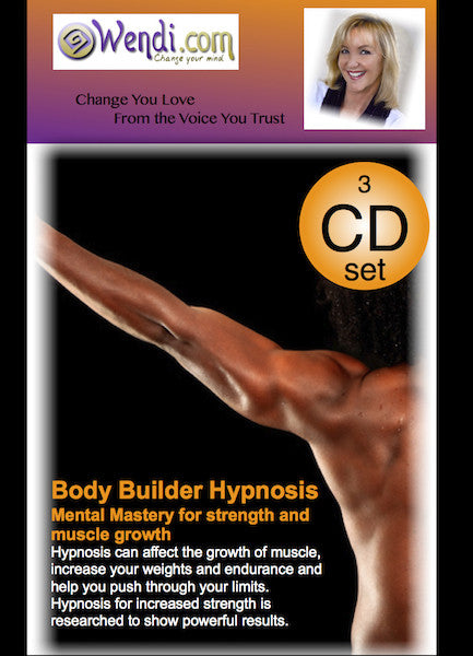 Body Builder Hypnosis CDs-by Wendi Friesen