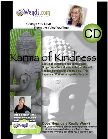 Karma of Kindness- hypnosis CD