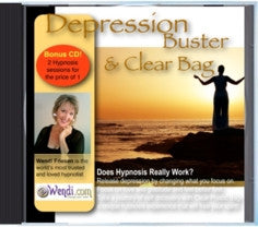 Depression Buster Hypnosis CD- by Wendi Friesen