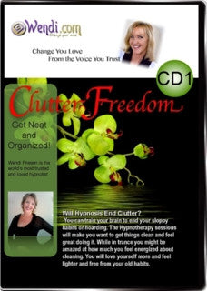 Clutter Freedom Hypnosis CD