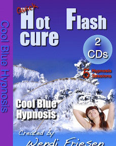 Cool Blue- Hypnosis CDs for Hot Flashes by Wendi Friesen