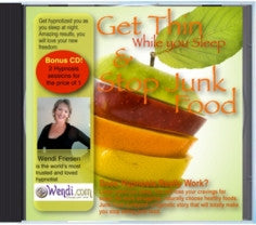 Junk Food Junkyard Hypnosis CD- by Wendi Friesen