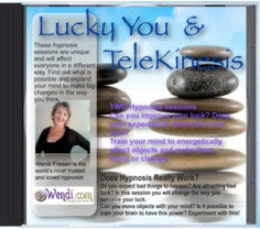 Lucky You  Hypnosis CD - by Wendi Friesen