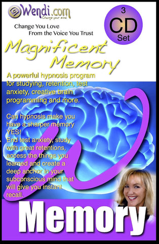 Memory Magic Hypnosis- Download- by Wendi Friesen