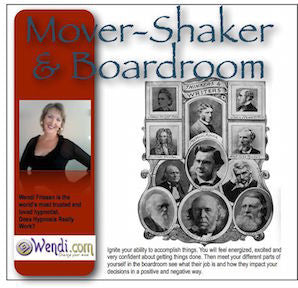 Mover and Shaker Hypnosis CD- by Wendi Friesen