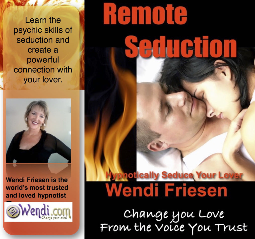 Remote Seduction Hypnosis CD- by Wendi Friesen