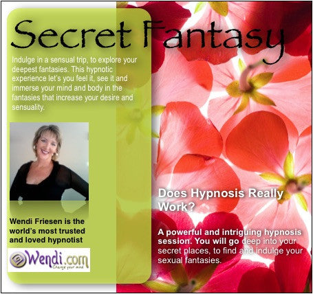 Secret Fantasy for Sexual Adventure- hypnosis CD