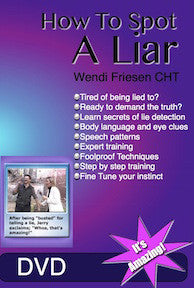 How to Spot a Liar- DVD - by Wendi Friesen