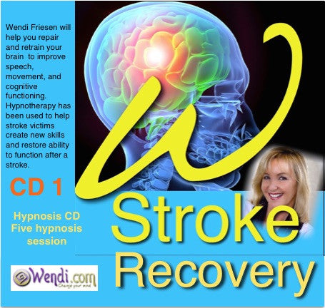 Stroke Recovery Hypnosis- CD