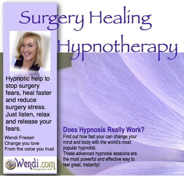 Surgery Fears and Healing- Hypnosis download