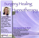 Surgery Fears and Healing- Hypnosis CD