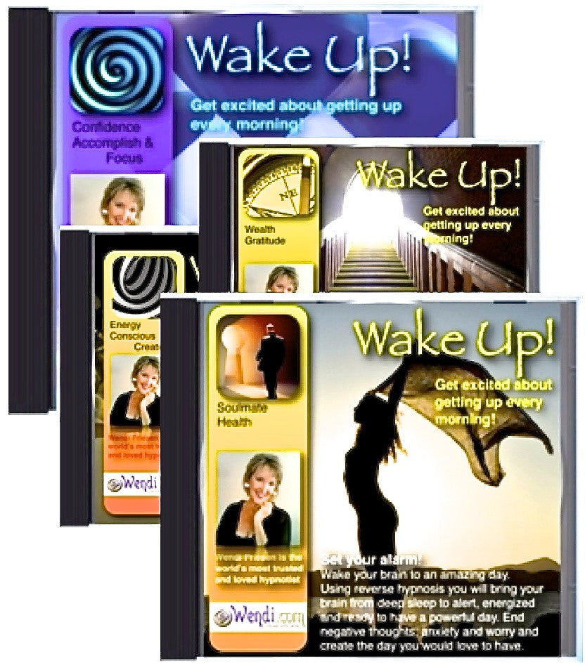 Wake Up Happy- Morning Hypnosis CDs
