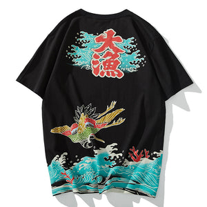 Japanese Symbolic Animals T-Shirt