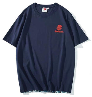 t-shirt - Godzilla & The Great Wave T-Shirt - KimuraFox