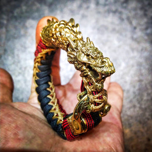 - Dragon Celtic Twist Paracord Bracelet - KimuraFox