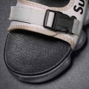 Air Cushion Two-Strap Sport Sandals - Kimura Fox