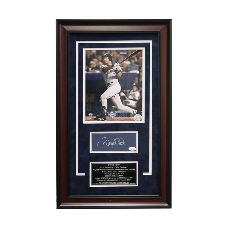 Derek Jeter New York Yankees Autographed