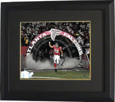 Tony Gonzalez signed Atlanta Falcons 16X20 Photo Custom Framing
