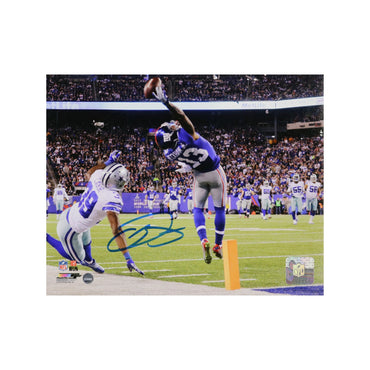 Odell Beckham Jr. New York Giants Autographed One Handed Catch 8x10 Photo