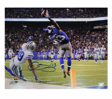 Odell Beckham Jr. New York Giants Autographed One Handed Catch vs Cowboys 16x20 Photo