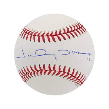 Johnny Damon New York Yankees/Boston Red Sox Autographed MLB Baseball (SSM Authenticated)