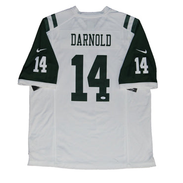 Sam Darnold New York Jets Autographed Replica White Nike Jersey (JSA  Authenticated)