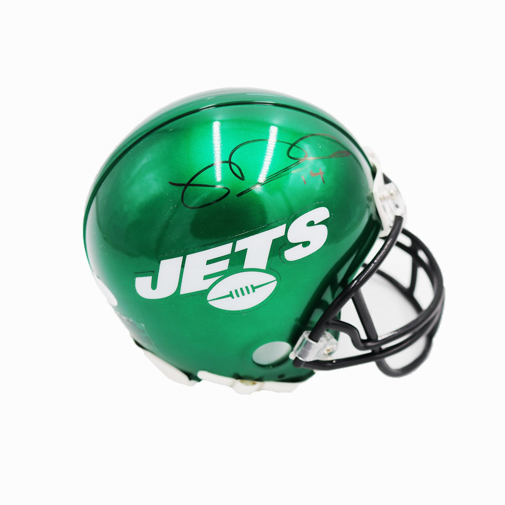 Sam Darnold New York Jets Autographed Replica New York Jets Riddell Speed Mini Helmet (JSA Authenticated)