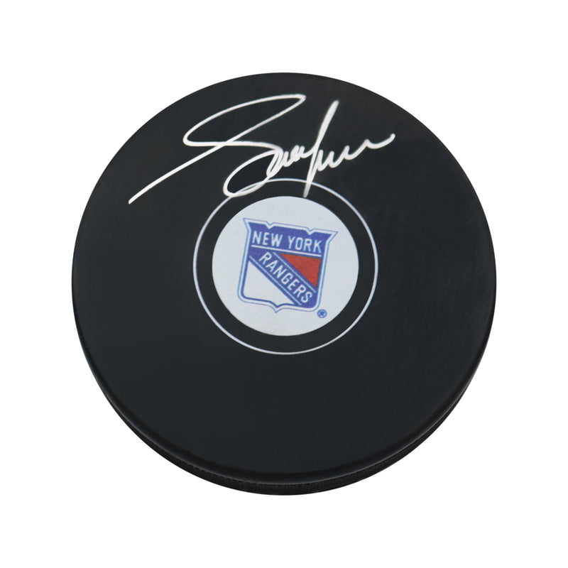 Adam Graves New York Rangers Autographed Puck (Steiner Hologram Only)