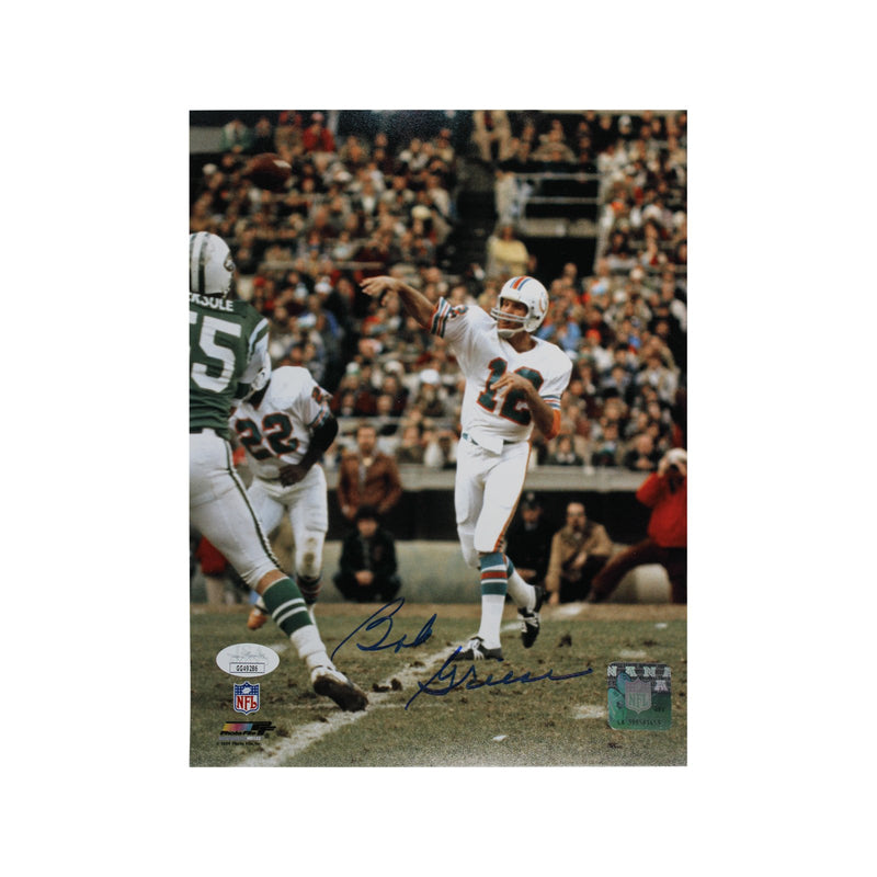 Bob Griese Miami Dolphins Autographed 8x10 Photograph (JSA Authenticated)