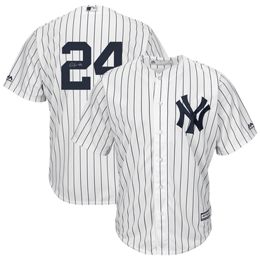 Gary Sanchez New York Yankees Autographed Home Replica Jersey