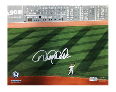 Derek Jeter Signed New York Yankees Final Game at Fenway Park 8x10 Photo
