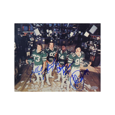 New York Jets Sack Exchange Autographed 8x10 Photo