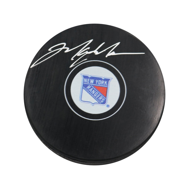 Mark Messier New York Rangers Autographed New York Rangers Puck (Steiner Hologram Only)