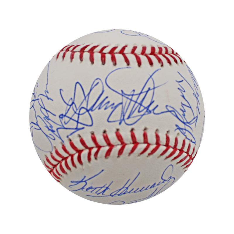 1986 New York Mets Team Autographed 1986 World Series Baseball with 26 Signatures (Steiner Hologram Only)