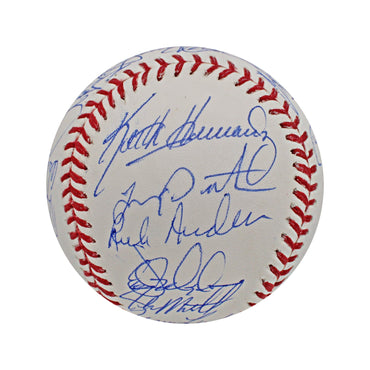 1986 New York Mets Team Autographed 1986 World Series Baseball with 26 Signatures