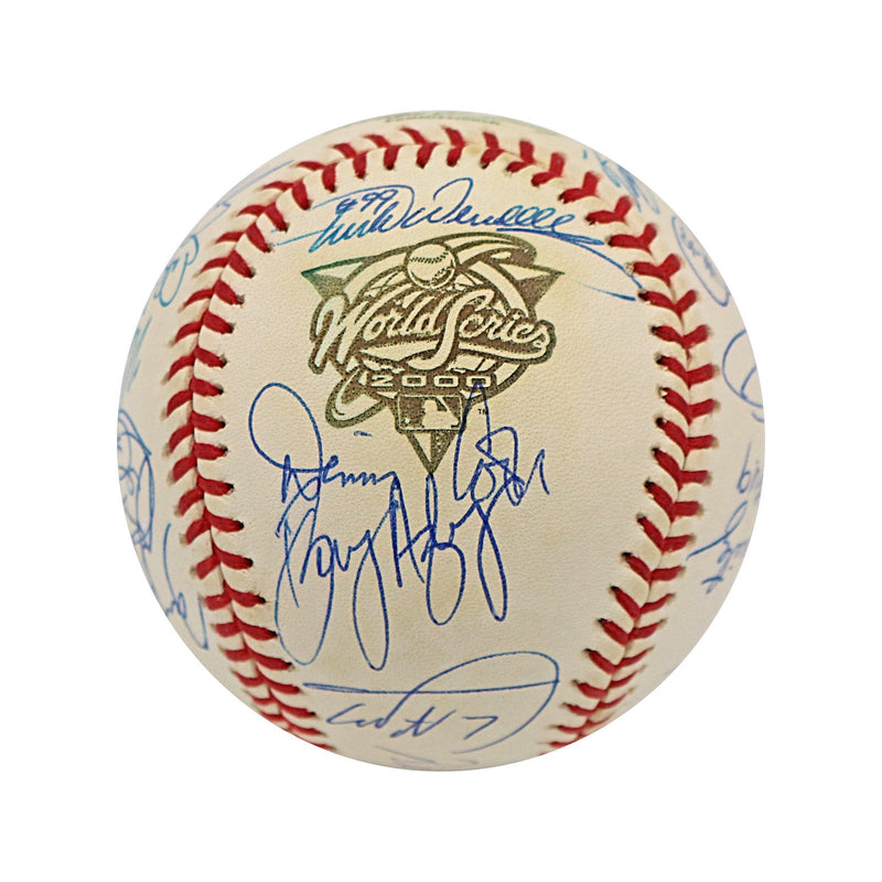 2000 New York Mets 25 Signature Autographed World Series Baseball (Jeff Nelson LOA)