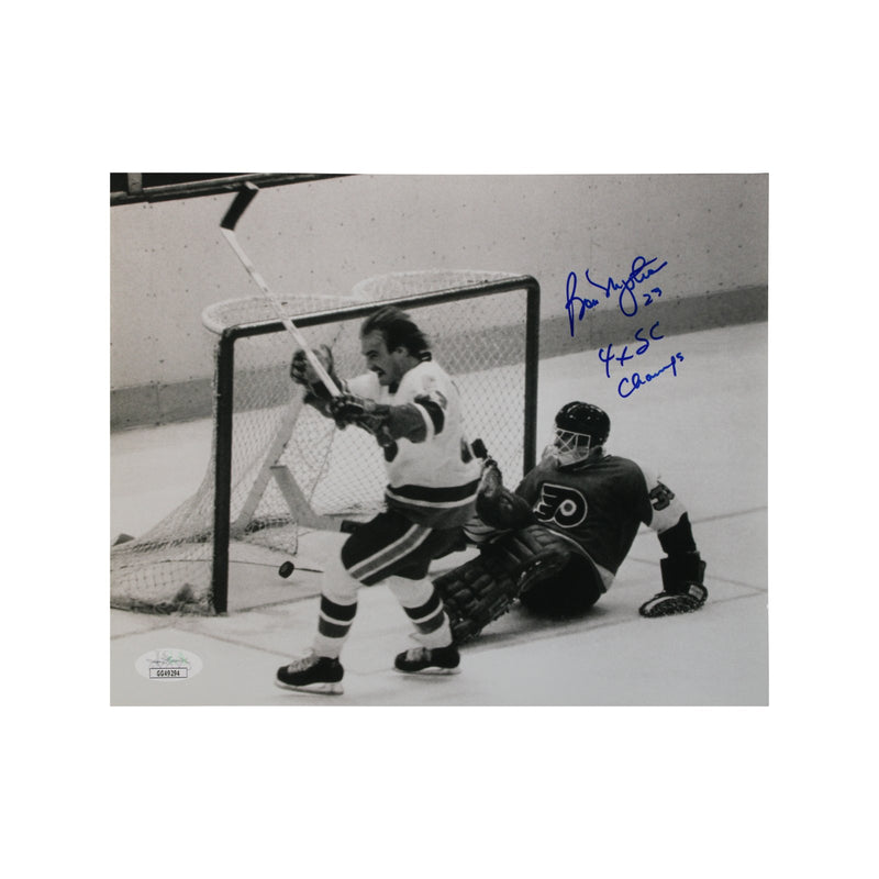 Bobby Nystrom New York Islanders Autographed 1980 Stanley Cup Game Winning Goal 8x10 Photograph with