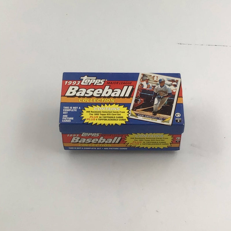 1993 Topps Major League Baseball Collection (Possible Jeter Rookie Card)