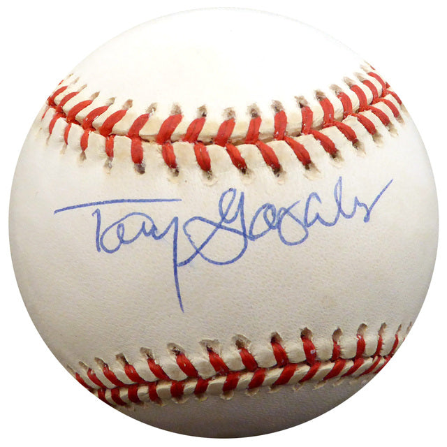 Tony Gonzalez Autographed Official AL Baseball Philadelphia Phillies, Atlanta Braves Beckett BAS #F26904
