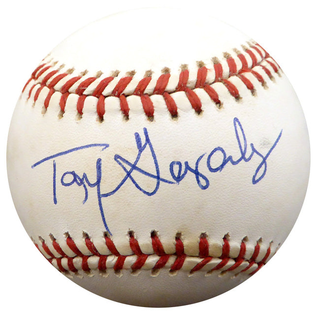 Tony Gonzalez Autographed Official AL Baseball Philadelphia Phillies, Atlanta Braves Beckett BAS #F26905