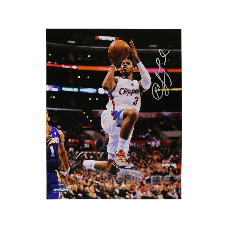Chris Paul Los Angeles Clippers Drive vs. Lakers Autographed 8x10 Photograph (Steiner Hologram Only)