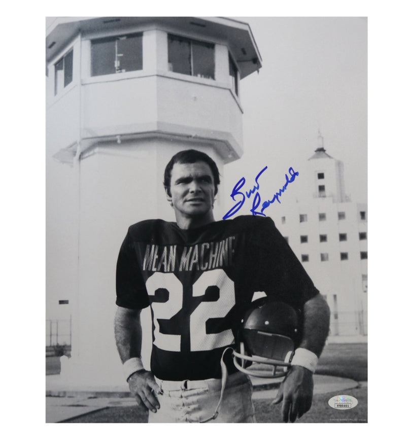 Burt Reynolds Mean Machine Autographed Longest Yard 11x14 Photo (JSA Authentication)