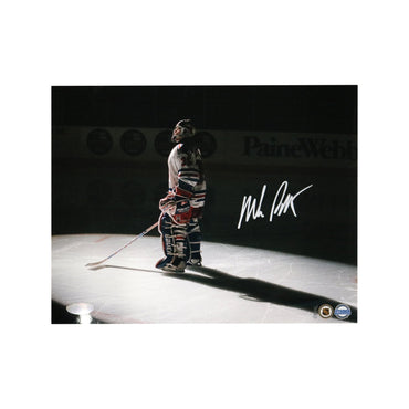 Mike Richter New York Rangers Autographed Spotlight 8x10 Photograph (Steiner Hologram Only)