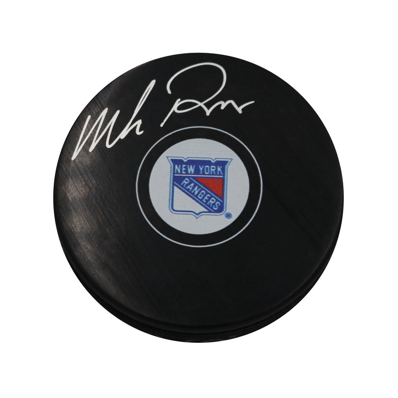 Mike Richter New York Rangers Autographed Rangers Puck (Steiner Hologram Only)